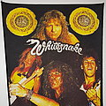 Whitesnake vintage back patch