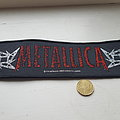 Metallica - Patch - Metallica vintage strip patch 1996
