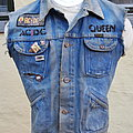 AC/DC , Queen battle vest