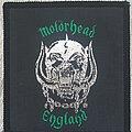 Motörhead - Patch - Motörhead England patch