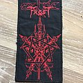 Embroidered Celtic Frost Patch