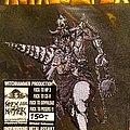 Metalucifer - Patch - Metalucifer Heavy Metal Drill Patch MINT