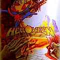 "Helloween Vintage 80s ""patch"" (made of actual metal)"