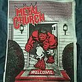 Metal Church - Patch - The Dark bootleg back patch