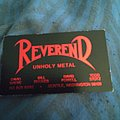 Reverend - Other Collectable - Reverend business card