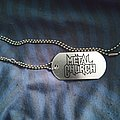 Metal Church - Other Collectable - Metal Church dog tag