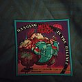 Metal Church - Patch - Hanging in the Balance blue border patch