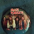 Iron Maiden - Pin / Badge - Band photo pin