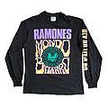 vintage rare single stitched ramones mondo bizarrd 1992 long sleeve t shirt