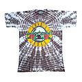 vintage rare single stitched 1989 guns n roses tie dye t shirt