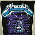 Vintage Metallica Back Patch