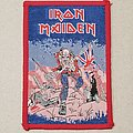 Iron Maiden - Patch - Vintage Iron Maiden Bubble Gum Patch