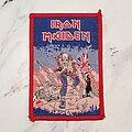 Iron Maiden - Patch - Vintage Iron Maiden -  The Trooper Bubblegum Patch