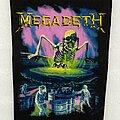 Megadeth - Patch - Megadeth No More Mr Nice Guy Back Patch