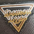 Demon eyes logo patch