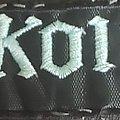 Pokolgep band logo patch