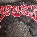 Trouble logo patch
