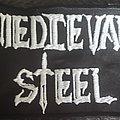 Medieval steel bootleg logo patch