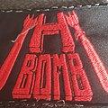 H bomb logo bootleg patch