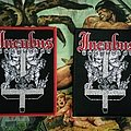 Incubus - Incubus red and black border woven patch