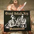 Grand Belial's Key - Satanicunt woven patch