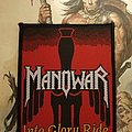 Manowar - Into Glory Ride woven patch