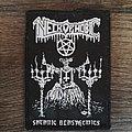 Necrophobic - Patch - Necrophobic - Satanic Blasphemies - patch