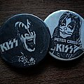 Kiss buttons Pin / Badge
