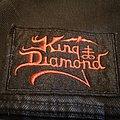 King Diamond - Patch - King Diamond - Logo patch