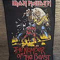 Iron Maiden - Patch - Iron Maiden - The Number of The Beast - backpatch - 1983