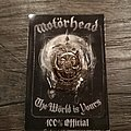 Motörhead - Pin / Badge - Motörhead - The World is Yours - badge