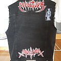 Thrash/death metal themed battle vest - just getting started