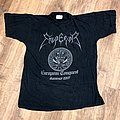Emperor - TShirt or Longsleeve - Emperor 1997 European Conquest mini tour shirt
