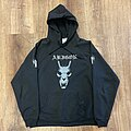 """Abigor - TShirt or Longsleeve - Abigor - """"My Dragon Magic…"""" hooded sweatshirt"""