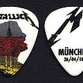 Metallica guitar pick Munich 2018 Other Collectable