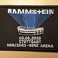 Rammstein patch Stuttgart 2020