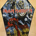 Iron Maiden - Patch - IRON MAIDEN - Number of the Beast - woven backpatches