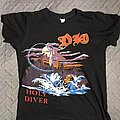 Dio - TShirt or Longsleeve - 1983 Dio Holy Diver New Years Eve Gig Shirt.