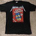 1989 Metallica Cap'ns of Krunch Krew Shirt.