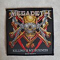 Megadeth - Patch - Modern Killing is my Business Megadeth patch