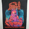 Death - Patch - Scream Bloody Gore backpatch