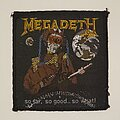 Megadeth - Patch - So Far So Good So What woven patch