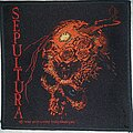 Sepultura - Patch - Sepultura Beneath the Remains patch