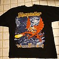 Rhapsody - Symphony of enchanted lands tour shirt