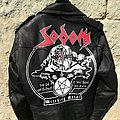 Painted Sodom Leather Jacket