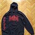 "INCANTATION ""Decimate Christendom"" sweatshirt hoodie size - XL"