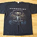 "Hypocrisy "" End Of Disclosure World Tour 2013 ""   t - shirt  size - XL"