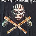 """Iron Maiden FC ( Fan Club ) """"The Book of Souls"""" T-Shirt Size - L"""