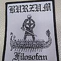 Burzum - Filosofem - Woven Patch