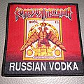 "Korrozia Metalla ""RUSSIAN VODKA""   Woven patch"